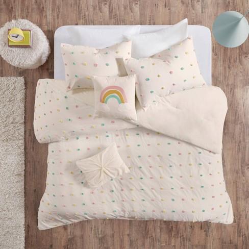 Kelsey Cotton Pom Pom Comforter Set - image 1 of 4