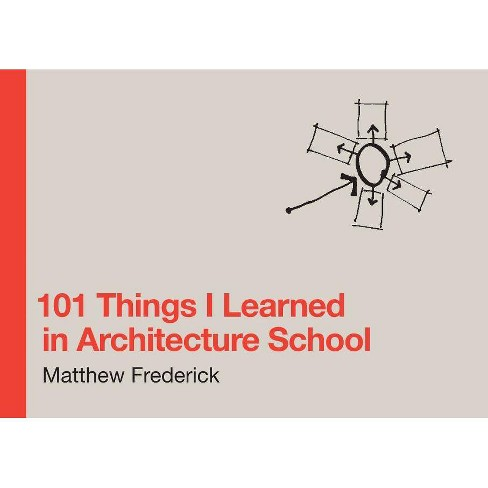 101 Things I Learned in Architecture School - by  Matthew Frederick (Hardcover) - image 1 of 1