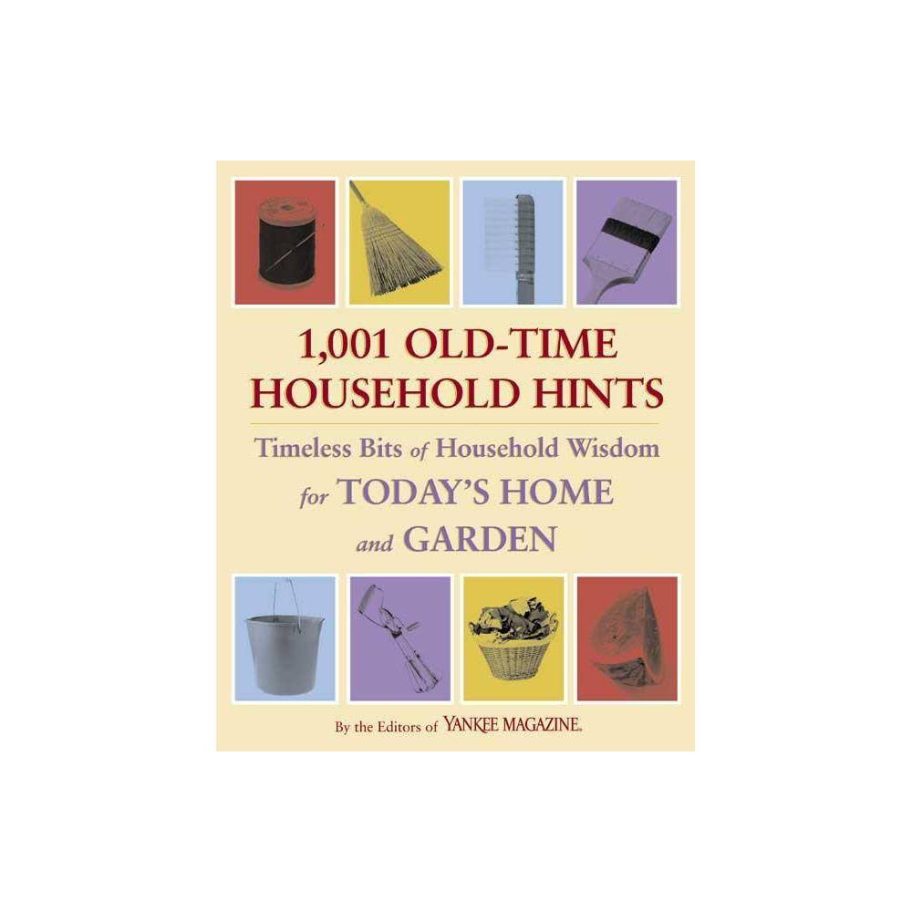 1 001 Old Time Household Hints By Yankee Magazine Paperback
