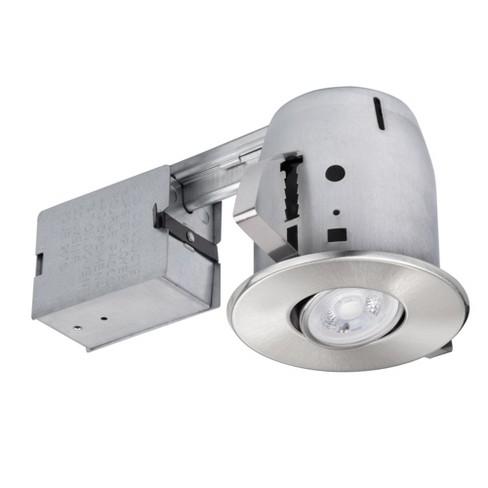 "Globe Electric 90442 4"" Sleek Directional Recessed Lighting Kit - image 1 of 1"