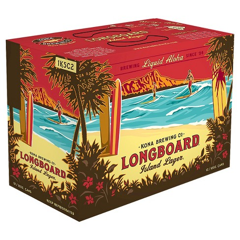Kona® Longboard Island Lager - 12pk / 12oz Cans - image 1 of 1