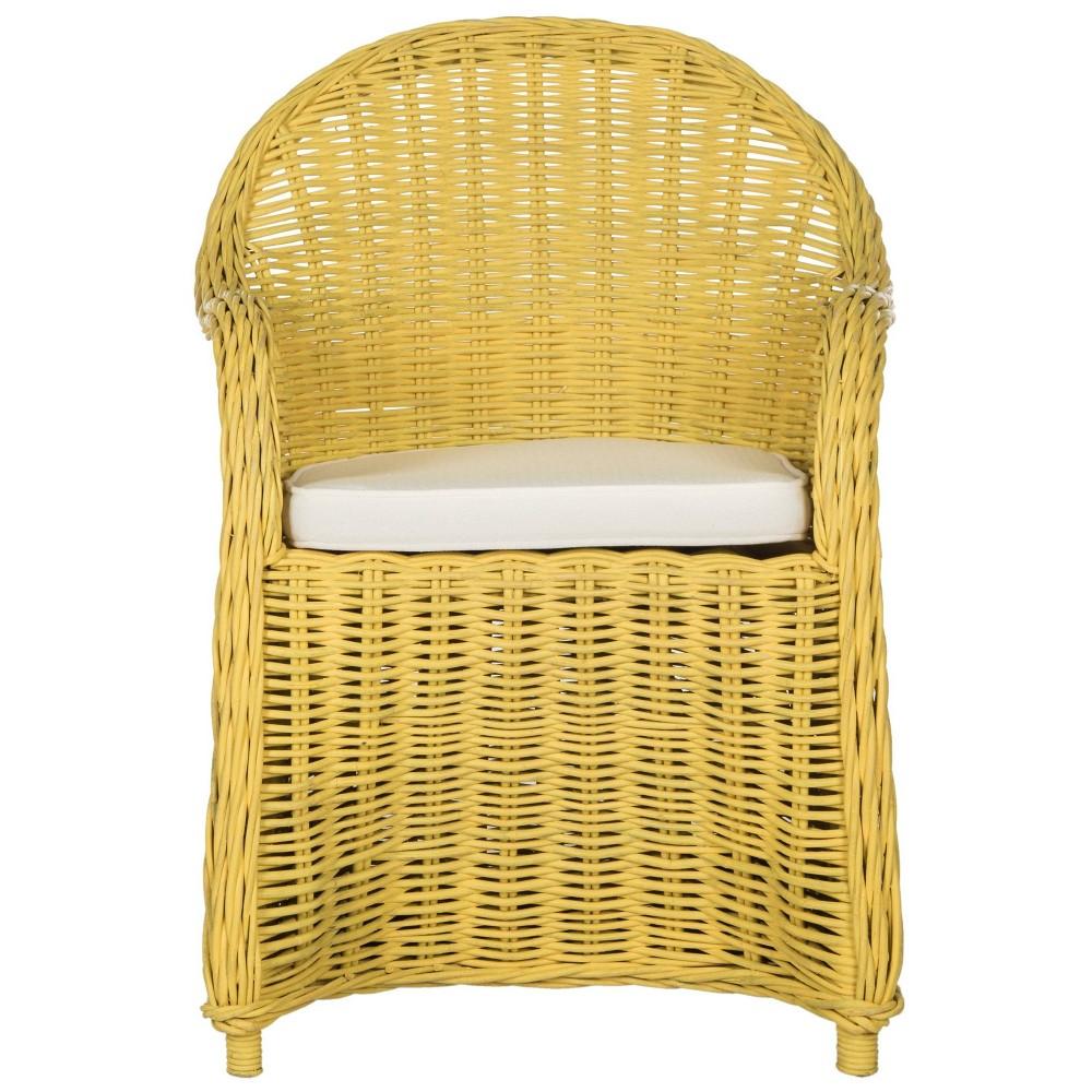 Accent Chairs Yellow - Safavieh