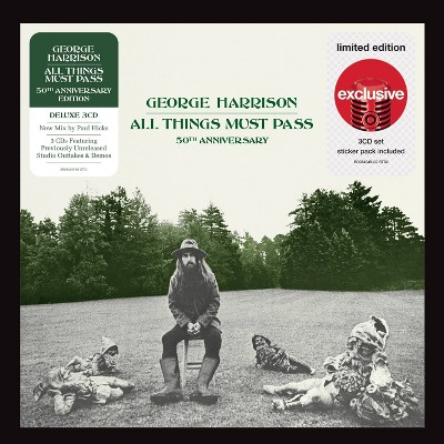 George Harrison - All Things Must Pass (Deluxe 3 CD) (Target Exclusive)