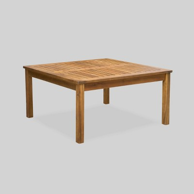 Sherman Teak Table Brown/White - Christopher Knight Home
