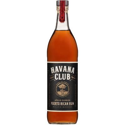Havana Club Anejo Clásico Puerto Rican Rum - 750ml Bottle