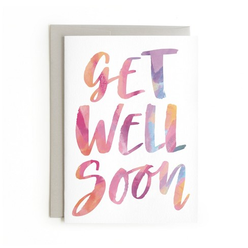 minted get well soon card target