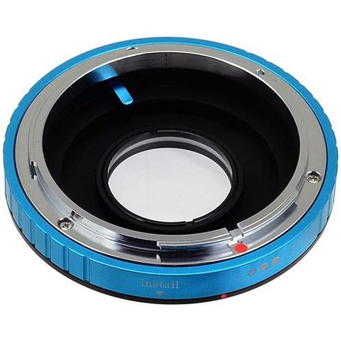 Fotodiox Lens Mount Adapter with 1.4x Multi-Coated Focus Correction Lens for Canon FD Lens to Nikon F Mount Camera - image 1 of 2