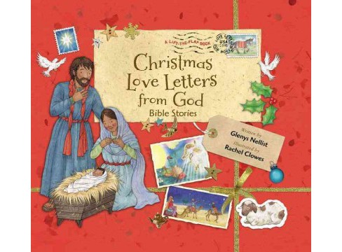 Christmas Love Letters from God : Bible Stories (Hardcover) (Glenys Nellist) - image 1 of 1