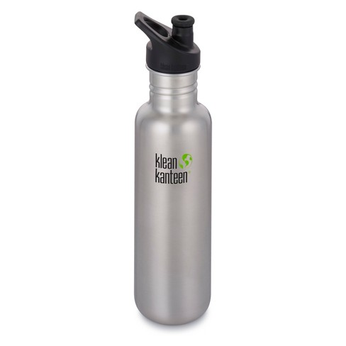 Klean Kanteen 27oz Classic Stainless Steel Water Bottle with Sport Cap - image 1 of 3