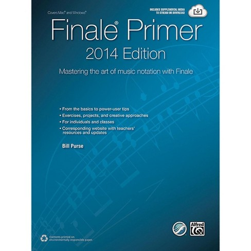 Alfred The Finale Primer: 2014 Edition Mastering the Art of Music Notation with Finale Book - image 1 of 1