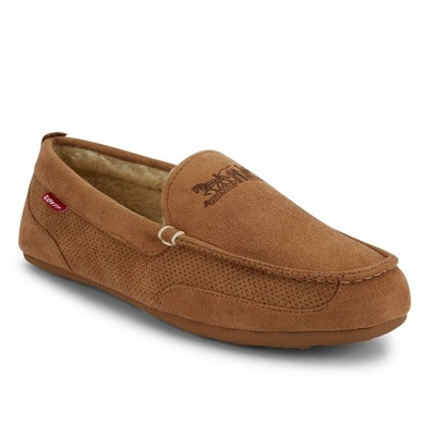 Levi's Mens Harlin Microsuede Venetian Slippers