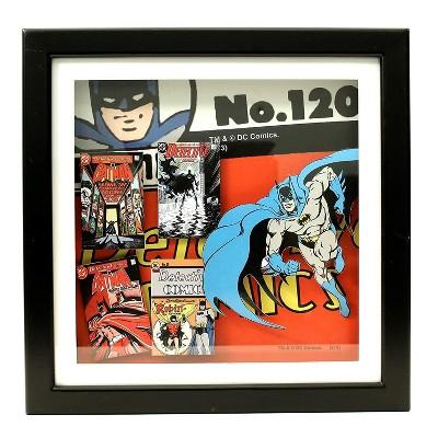Silver Buffalo Batman #120 14 x 14 Inch Wood Shadow Box Wall Art