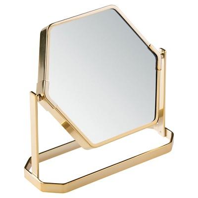 Bathroom Mirror Gold - Nate Berkus