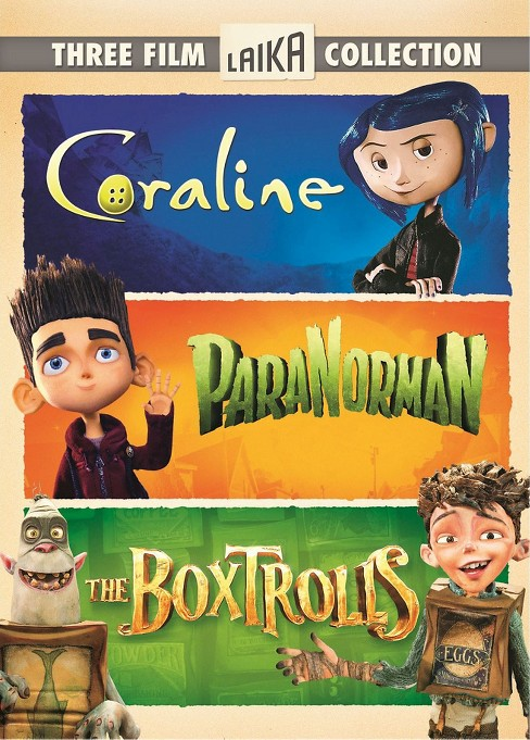 Three Film Laika Collection: Coraline/ParaNorman/The Boxtrolls [3 Discs] - image 1 of 1