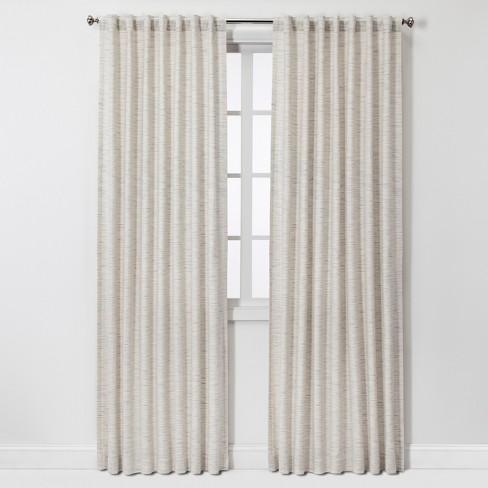 Striation Herringbone Light Filtering Curtain Panels - Project 62™ - image 1 of 4