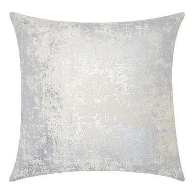 Silver Quatrefoil Throw Pillow - Mina Victory