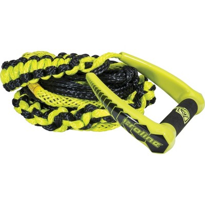 CWB Connelly 75 Foot Easy Up Ski Rope with EVA Core and Large Handles, Volt