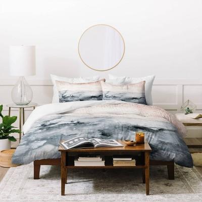 Iris Lehnhardt Pastel Landscape Duvet Set - Deny Designs
