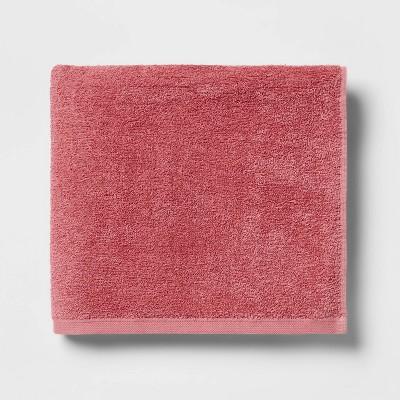 Everyday Bath Towel Pink - Room Essentials™