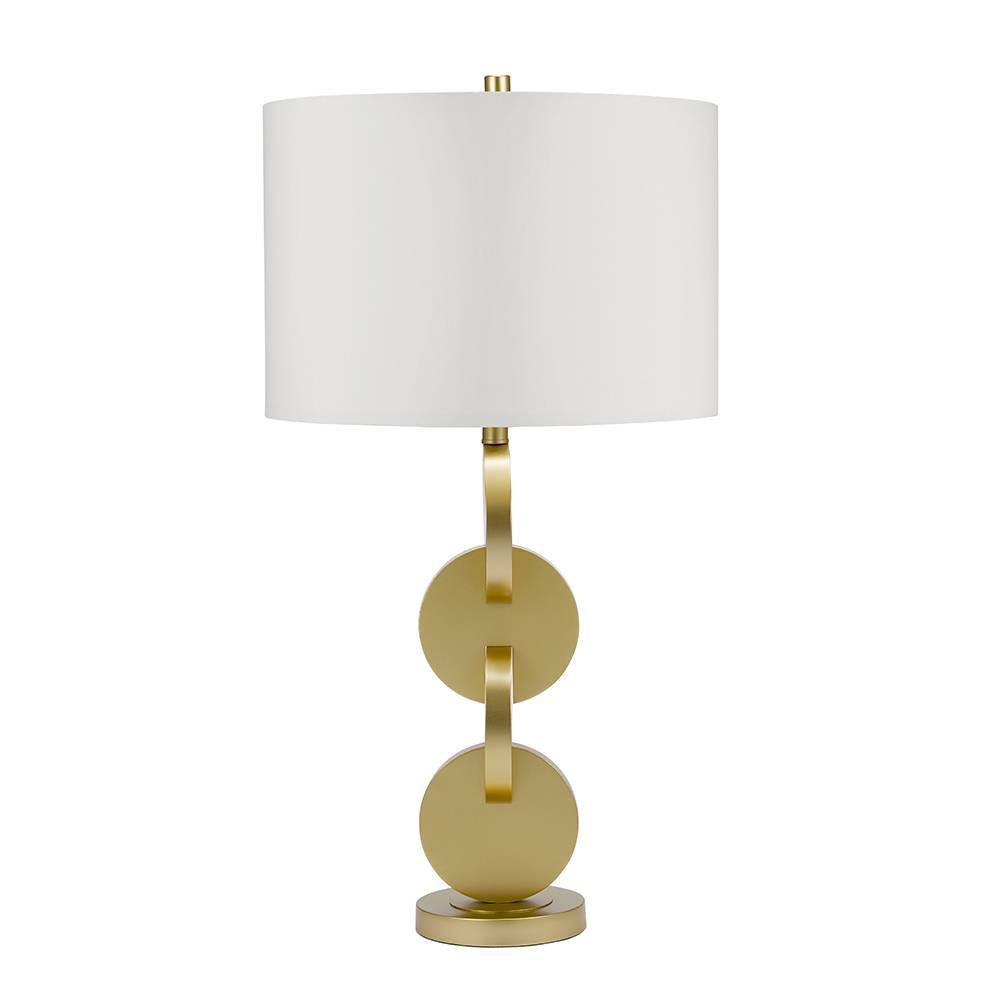 Duncan Table Lamp Brass (Lamp Only) - Cresswell Lighting