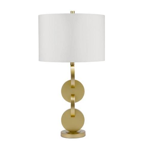 Duncan Table Lamp Brass  - Cresswell Lighting - image 1 of 4