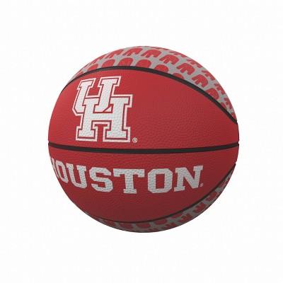 NCAA Houston Cougars Repeating Logo Mini-Size Rubber Basketball