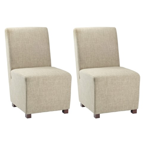 Set of 2 Dining Chairs Acorn - Safavieh - image 1 of 5