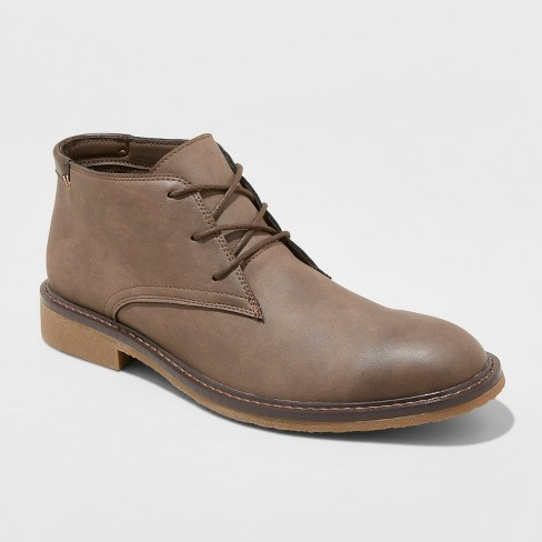 Men's Granger Casual Fashion Boots - Goodfellow & Co™ Brown - image 1 of 4