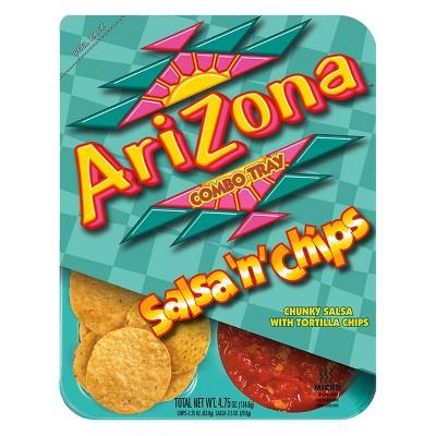 AriZona Salsa 'n' Chips - 4.75oz Tray