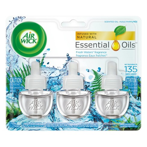 Air Wick Scented Oil Refill Fresh Water 3 ct - image 1 of 6