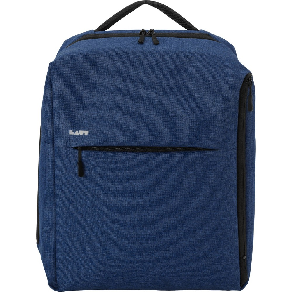 "Image of ""LAUT 17"""" Urban Lite Backpack - Indigo, Blue"""