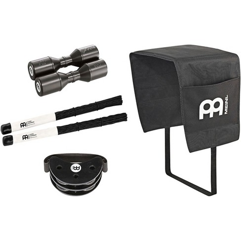 Meinl PP-8 Cajon Accessory Pack with Cajon Blanket, Brushes, Live Shaker and Free Compact Foot Tambourine - image 1 of 1