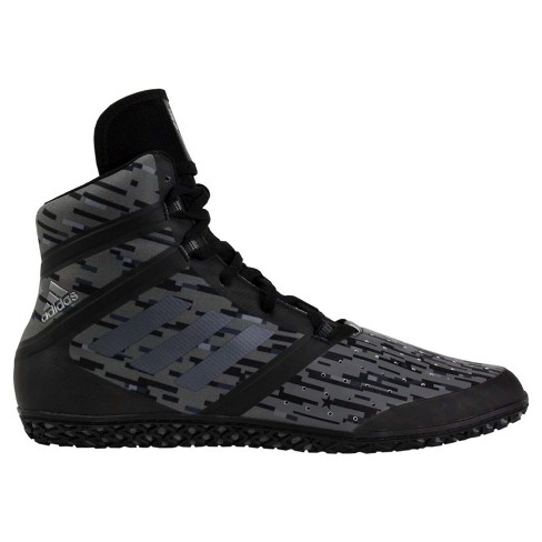 huge selection of 99d18 f4aa9 Adidas Men s Impact Wrestling Shoes - Black Digital