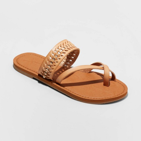 Women's Taryn Woven Toe Ring Sandals - Universal Thread™ - image 1 of 3