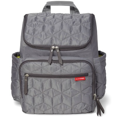 Skip Hop Forma Diaper Backpack - Gray