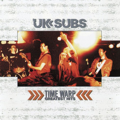 Uk Subs - Time Warp:Greatest Hits (Vinyl) - image 1 of 1