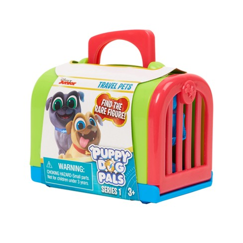 PUPPY DOG PALS Series 3 Travel Pets *1* Mini Carrier *NEW* Disney Jr
