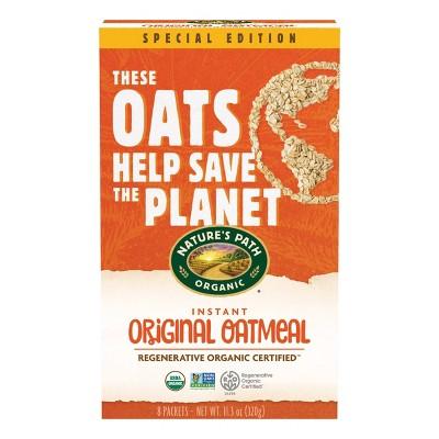 Nature's Path Organic Regenerative Original Instant Oats - 11.3oz/8ct