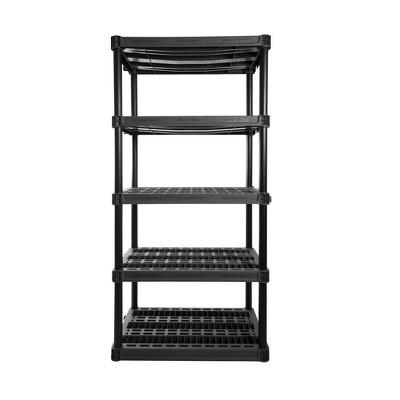 Plano 5 Shelf Utility Storage Gray