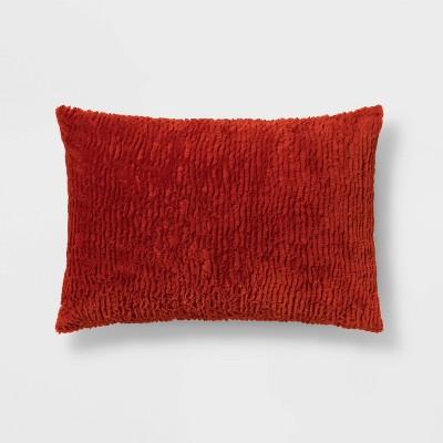 Standard Faux Fur Solid Pillowcase - Room Essentials™