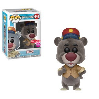 Funko POP! Disney TaleSpin Baloo Flocked