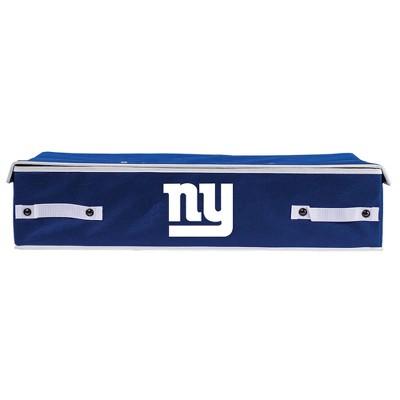 NFL Franklin Sports New York Giants Under The Bed Storage Bins - Large