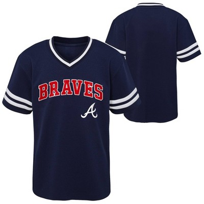 MLB Atlanta Braves Toddler Boys' Pullover Jersey