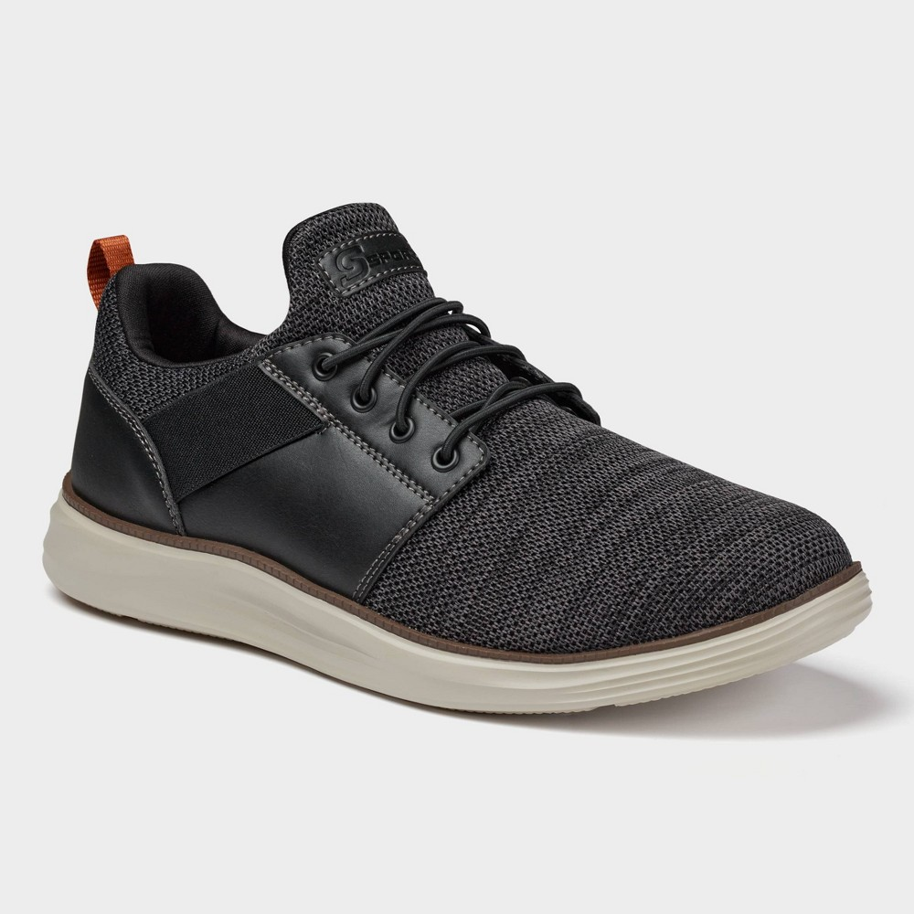 Men 39 S S Sport By Skechers Larsin Casual Sneakers Black 11