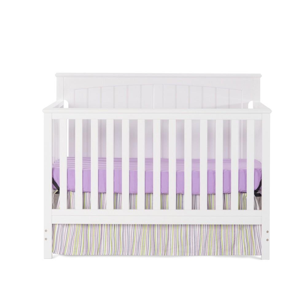 Child Craft Sheldon 4-in-1 Convertible Crib - Matte White