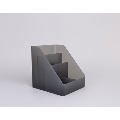 Plastic Medium Desktop Organizer Dark Gray - Made By Design™