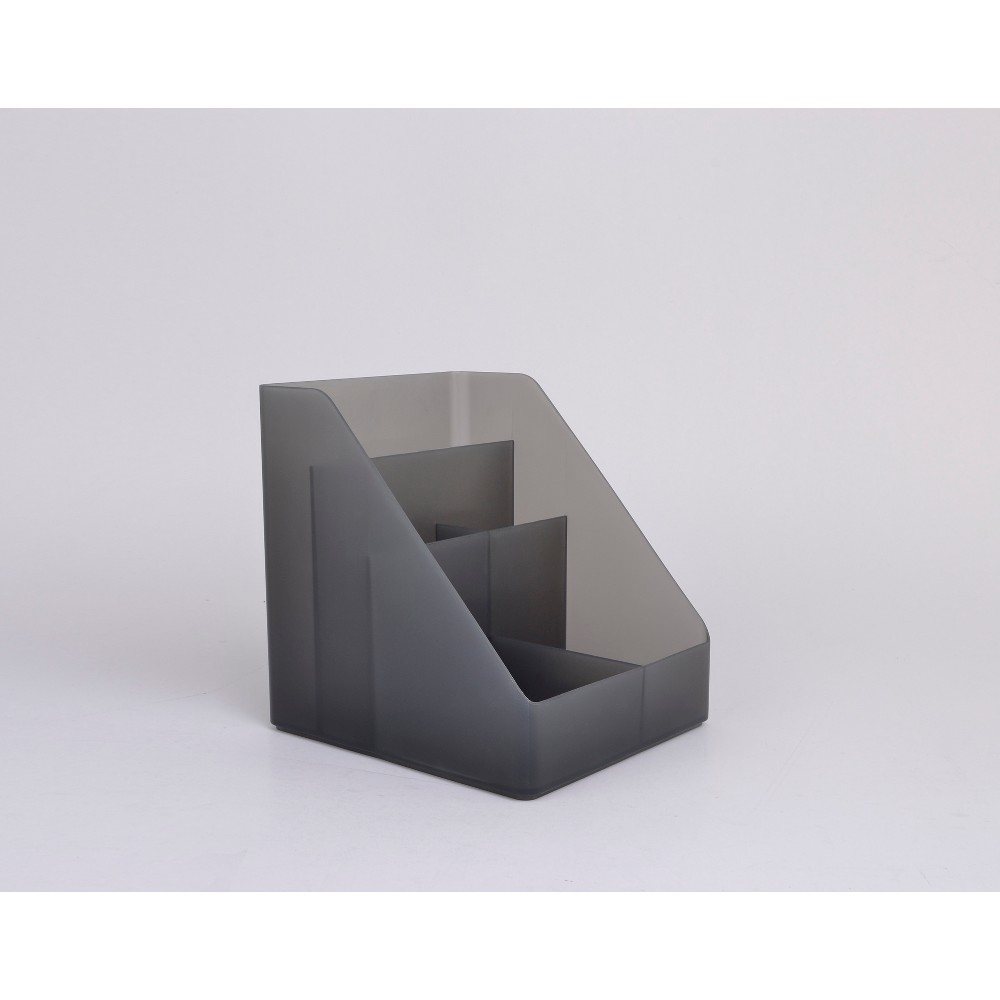 Plastic Medium Desktop Organizer Dark Gray Made By Design 8482