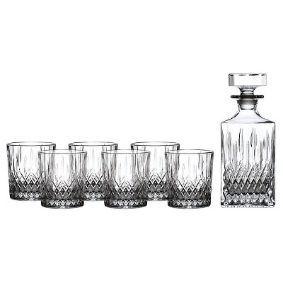 Royal Doulton® Earlswood 5pc Whiskey Decamter and Tumblers Set