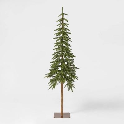 6ft Unlit Downswept Alpine Balsam Artificial Christmas Tree - Wondershop™