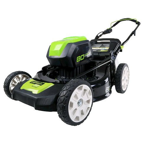 Greenworks Pro GLM801600 80V 21-inch Lawn Mower - Battery and Charger Not Included - image 1 of 2